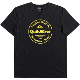 Quiksilver Secret Ingredient Maglietta a maniche corte Uomo, black
